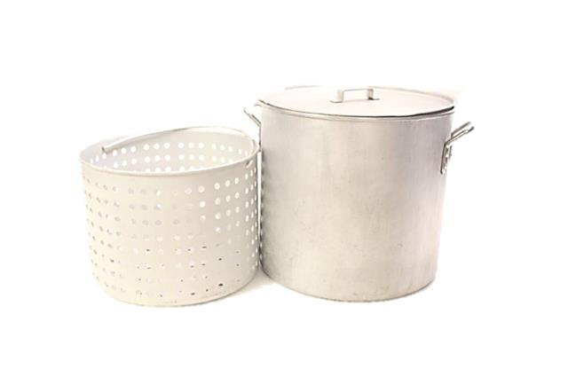 60 Quart Stock Pot With Steamer Insert