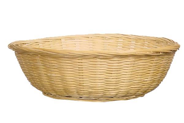 Wicker Bun Basket